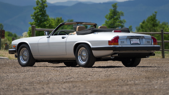 1990 Jaguar XJ-Type S V-12 Convertible:21 car images available