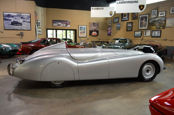 1950 Jaguar XK-Type 120
