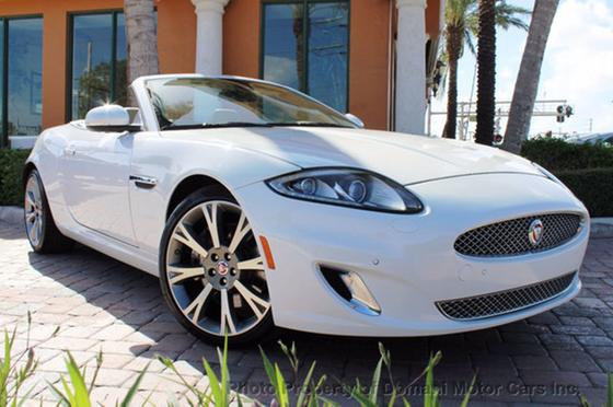 2014 Jaguar XK-Type Luxury Convertible:24 car images available