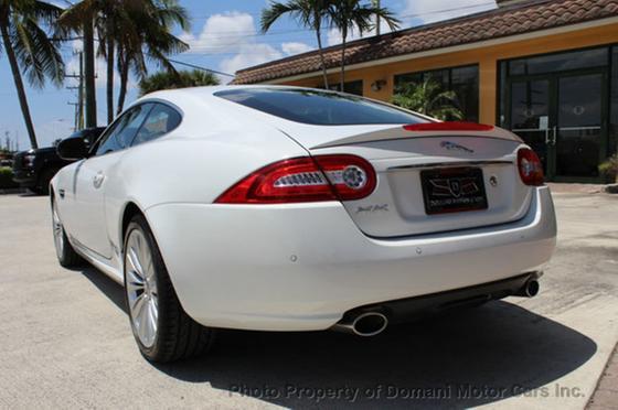 2012 Jaguar XK-Type Luxury Coupe