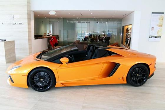 2015 Lamborghini Aventador LP700-4 Roadster:18 car images available