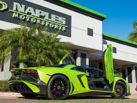 2017 Lamborghini Aventador LP750-4 Superveloce
