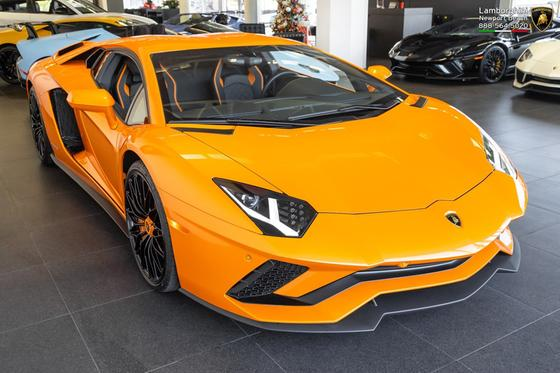 2018 Lamborghini Aventador S For Sale In Costa Mesa Ca
