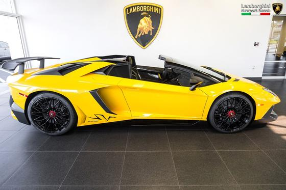 2017 Lamborghini Aventador Sv Roadster For Sale In Costa