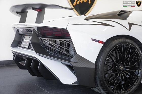 2016 Lamborghini Aventador SV Roadster