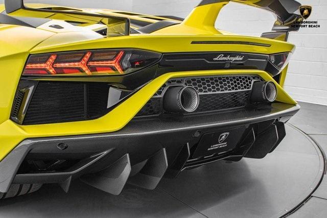 2019 Lamborghini Aventador SVJ