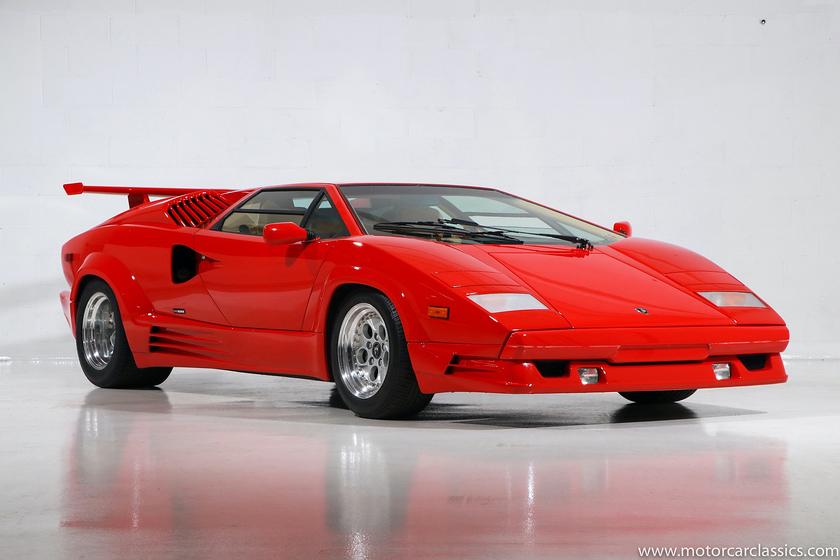 1989 Lamborghini Countach :24 car images available