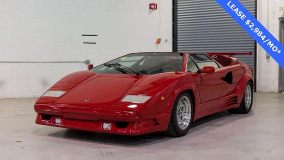 1990 Lamborghini Countach 25th Anniversary:10 car images available