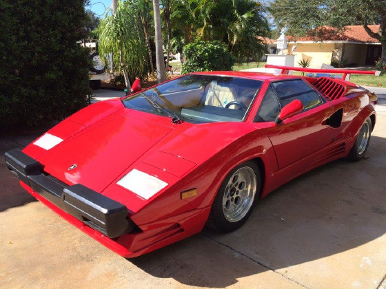 1989 Lamborghini Countach 25th Anniversary:8 car images available