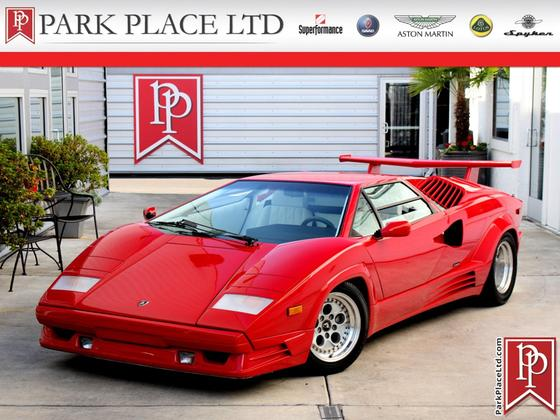 1989 Lamborghini Countach 25th Anniversary:24 car images available