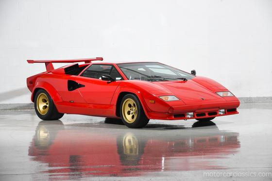 1987 Lamborghini Countach 5000 QV:24 car images available