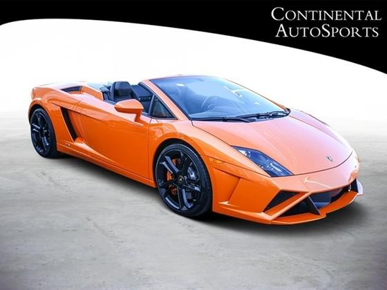 2014 Lamborghini Gallardo LP 560-4 Spyder:24 car images available
