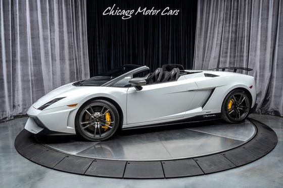 2011 Lamborghini Gallardo LP 570-4 Spyder Performante:24 car images available