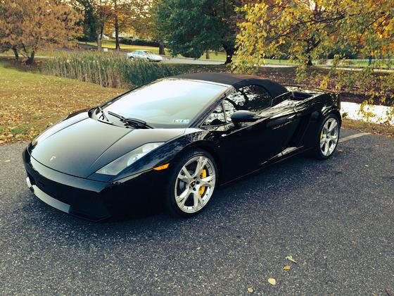 2008 Lamborghini Gallardo Spyder:6 car images available