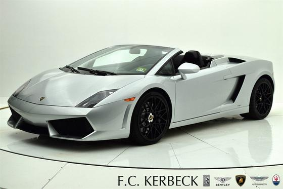 2011 Lamborghini Gallardo Spyder:24 car images available