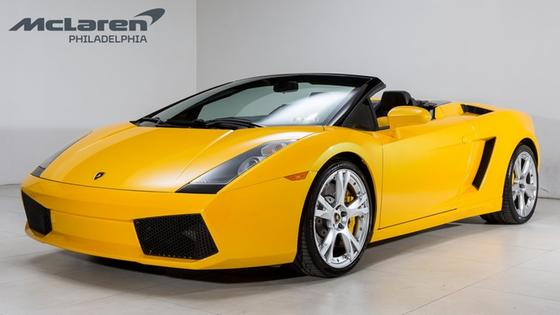 2007 Lamborghini Gallardo Spyder:22 car images available