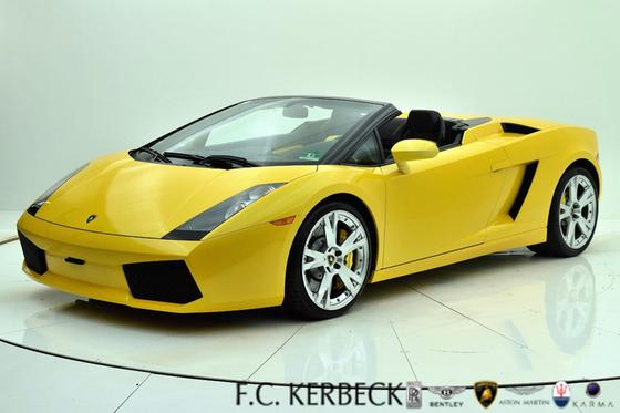 2008 Lamborghini Gallardo Spyder:24 car images available