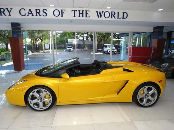 2008 Lamborghini Gallardo Spyder:24 car images available