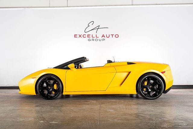 2007 Lamborghini Gallardo Spyder:24 car images available