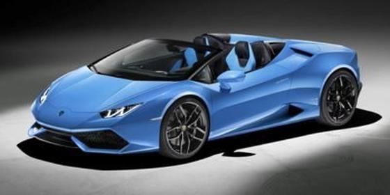 2017 Lamborghini Huracan LP 580-2 Spyder : Car has generic photo