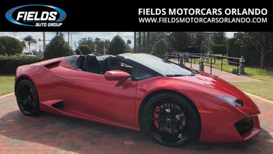 2017 Lamborghini Huracan LP 580-2 Spyder:22 car images available