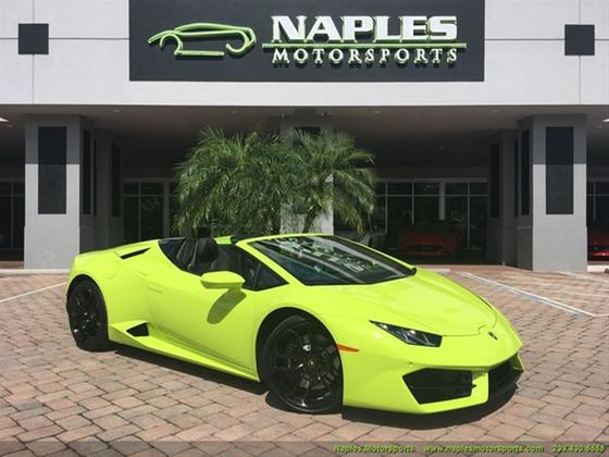 2017 Lamborghini Huracan LP 580-2 Spyder:19 car images available