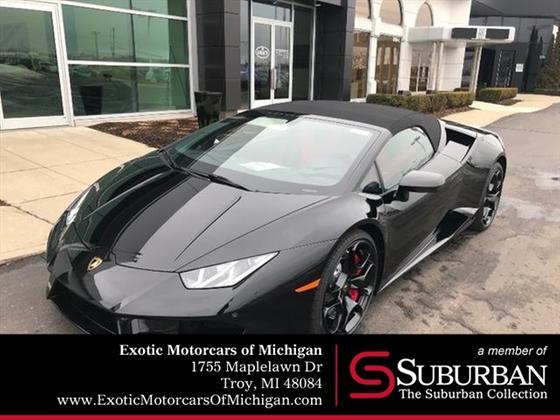 2019 Lamborghini Huracan LP 580-2 Spyder:14 car images available