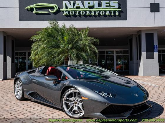 2016 Lamborghini Huracan LP 610-4 Spyder:24 car images available