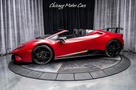 2019 Lamborghini Huracan Performante Spyder:24 car images available