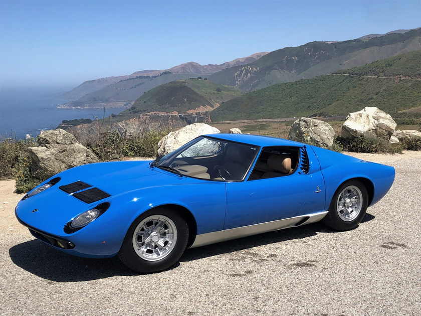 1968 Lamborghini Miura P400:4 car images available