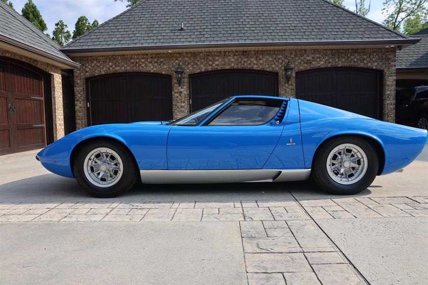 1968 Lamborghini Miura P400:9 car images available
