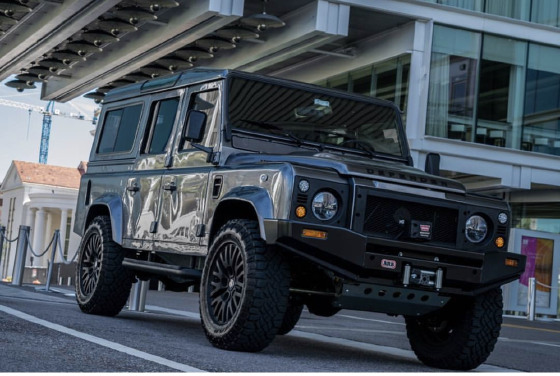 1989 Land Rover Defender 110:10 car images available
