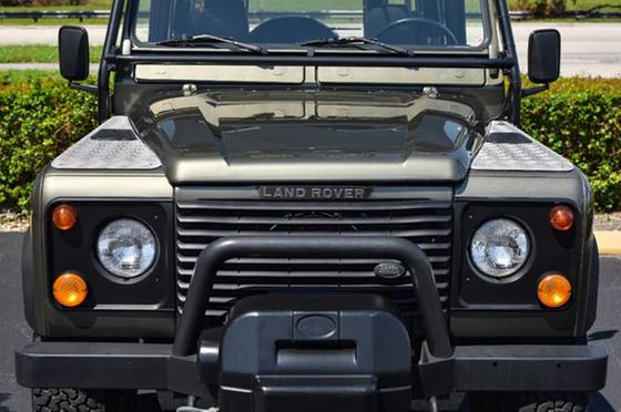 1997 Land Rover Defender  90 Hard Top