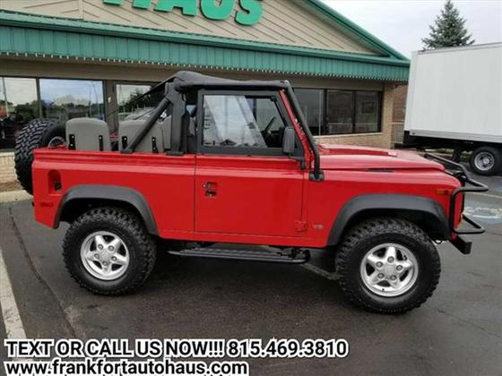 1995 Land Rover Defender 90 Hard Top:23 car images available