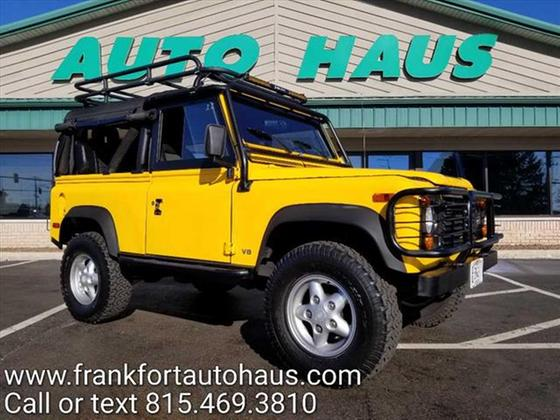 1995 Land Rover Defender 90 Hard Top:24 car images available