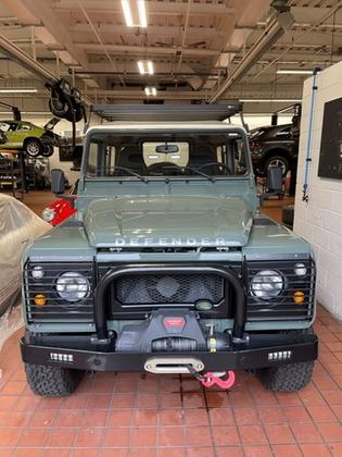 1992 Land Rover Defender 90 Hard Top : Car has generic photo