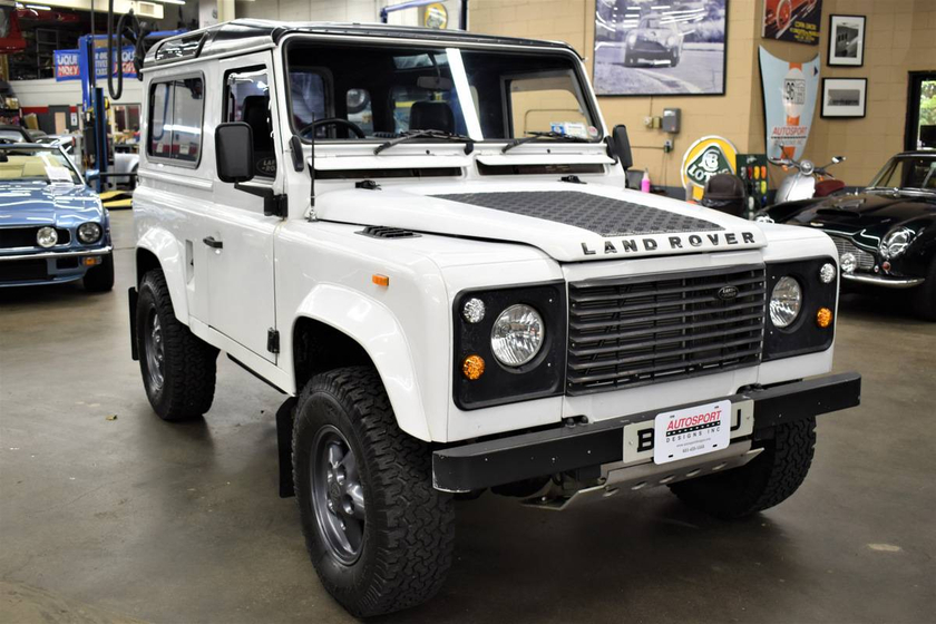 1990 Land Rover Defender 90 Hard Top:12 car images available
