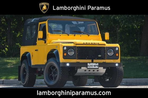 1987 Land Rover Defender 90 Soft Top:24 car images available