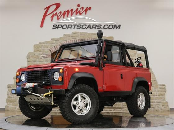1994 Land Rover Defender 90 Soft Top:24 car images available