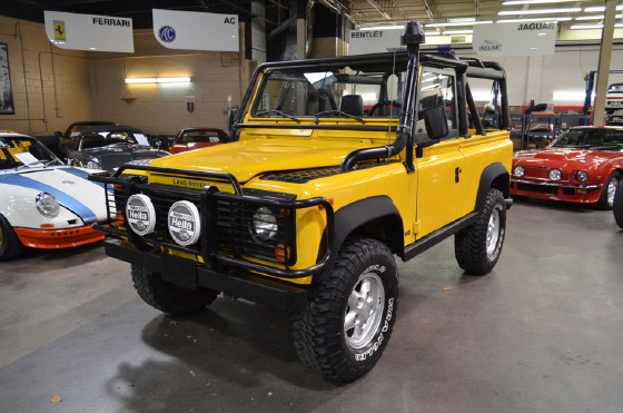 1995 Land Rover Defender 90 Soft Top
