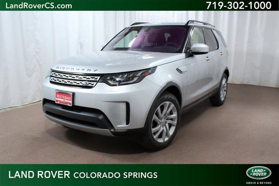 Land Rover Colorado Springs >> 2019 Land Rover Discovery Hse For Sale In Colorado Springs