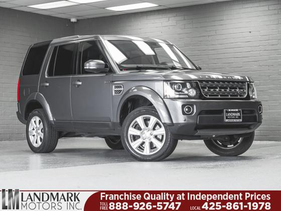 2014 Land Rover LR4 HSE:24 car images available