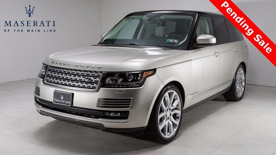 2014 Land Rover Range Rover 3.0L Supercharged HSE:23 car images available