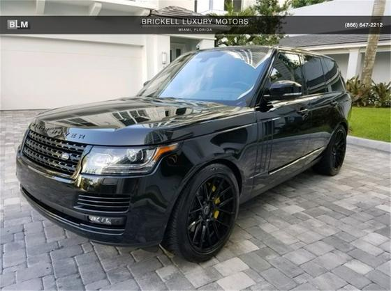 2016 Land Rover Range Rover 3.0L Supercharged HSE:12 car images available