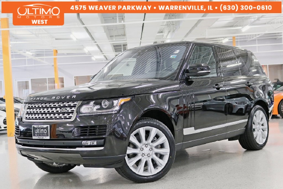 2017 Land Rover Range Rover 3.0L Supercharged HSE:6 car images available