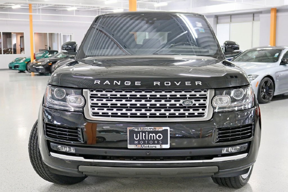 2017 Land Rover Range Rover 3.0L Supercharged HSE
