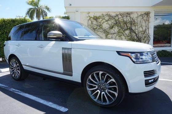2016 Land Rover Range Rover Autobiography:12 car images available