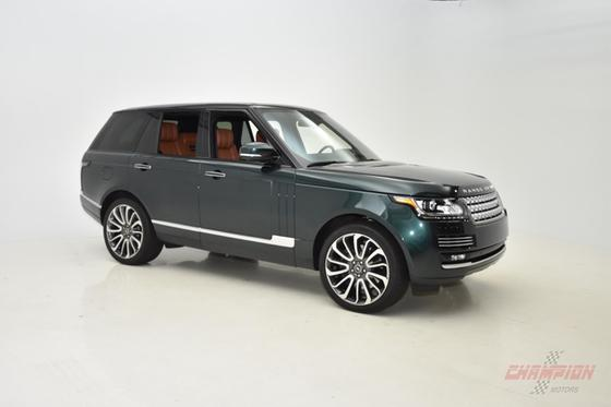 2013 Land Rover Range Rover Autobiography:24 car images available