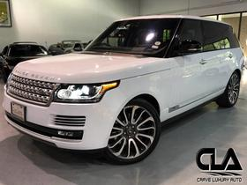 2017 Land Rover Range Rover Autobiography:24 car images available