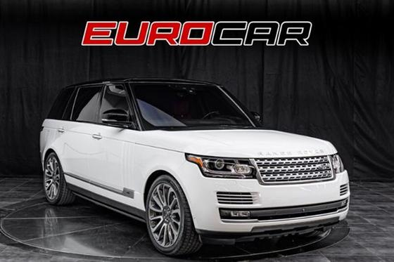 2017 Land Rover Range Rover Autobiography